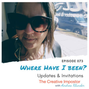 CI073: Where Have I been? Updates & Invitations