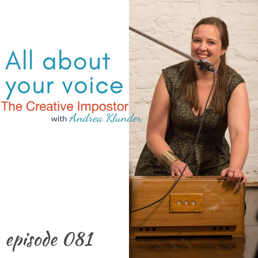 CI081: All about your voice (feedback please!)