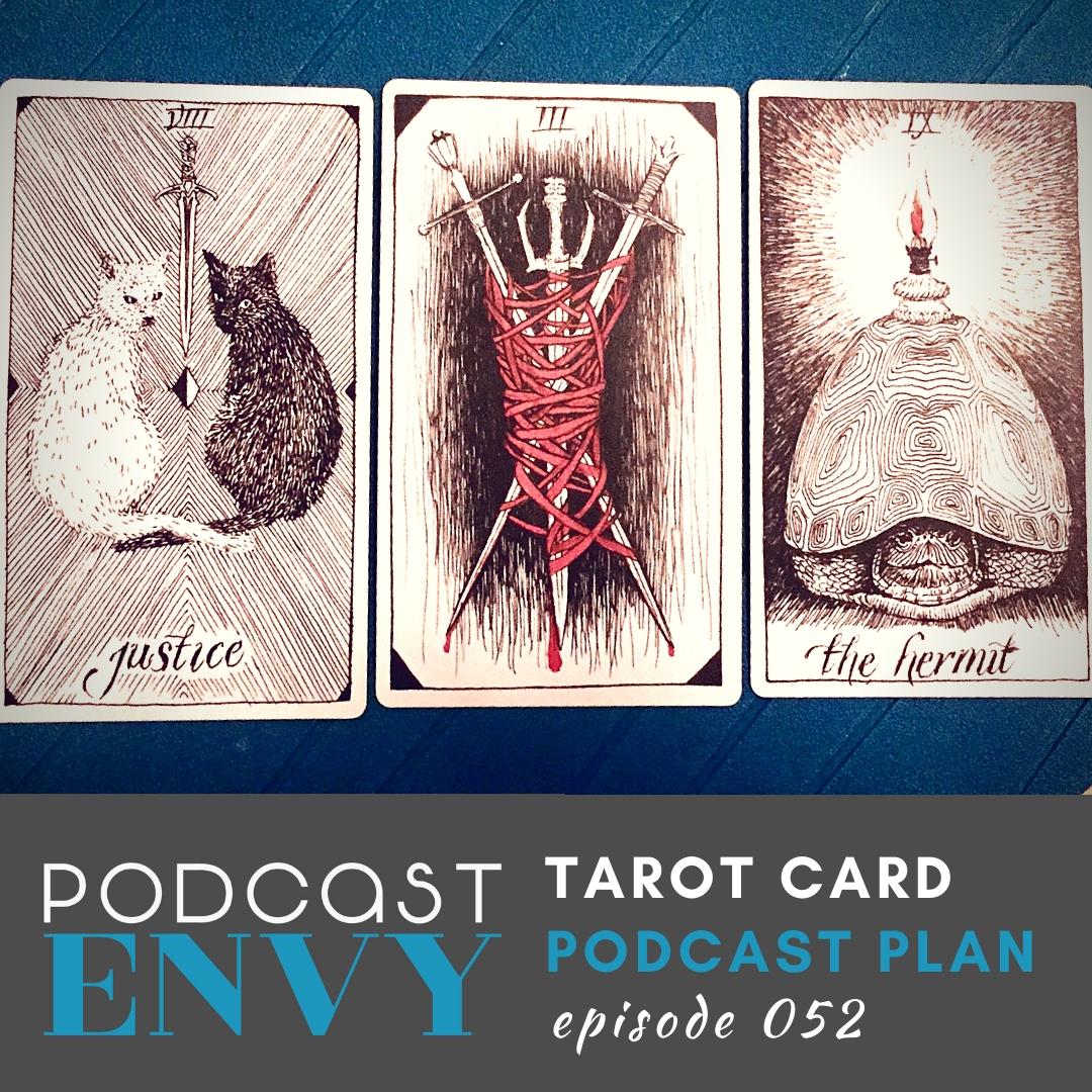 PE052: Tarot Card Podcast Plan