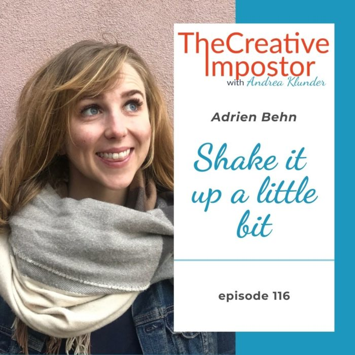 CI116: Shake it up a little bit with Adrien Behn