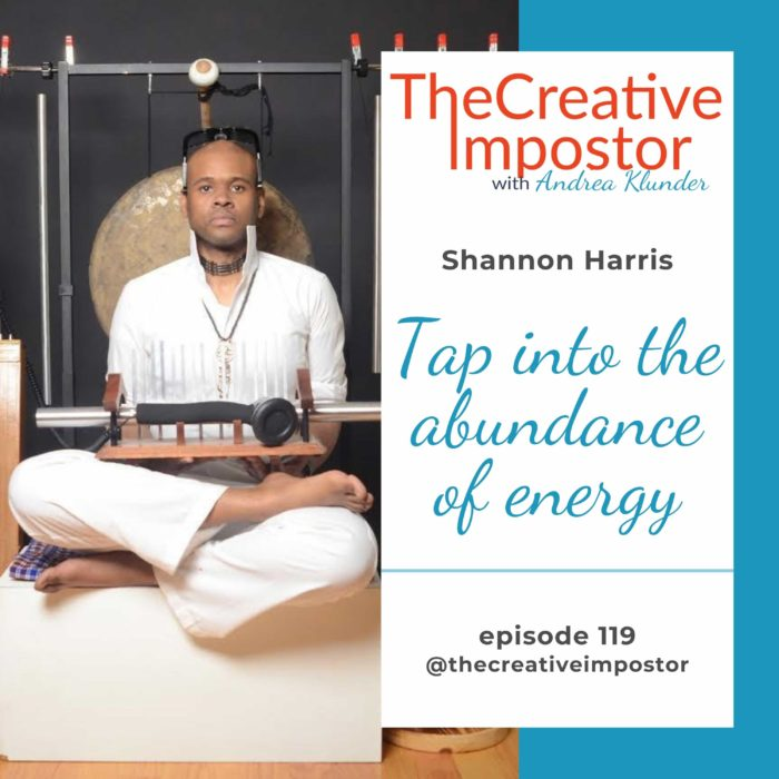 CI119: Tap into the abundance of energy, Shannon Harris
