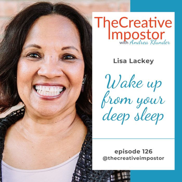 CI126: Wake up from your deep sleep with Lisa Lackey
